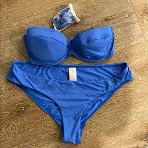 Zimmermann bikini blue